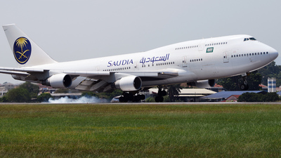 9M-MPD - Boeing 747-4H6 - Saudi Arabian Airlines (Eaglexpress Air Charter)