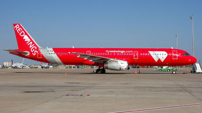 VP-BVW - Airbus A321-231 - Red Wings