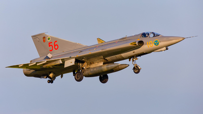 SE-DXR - Saab J-35J Draken - Swedish Airforce Historic Flight