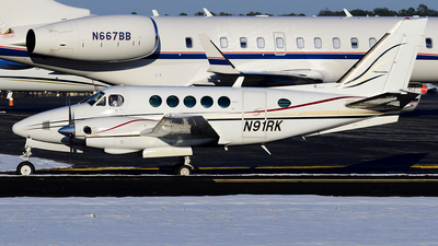 N91RK - Beechcraft A100 King Air - Private