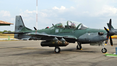 FAB5933 - Embraer A-29B Super Tucano - Brazil - Air Force
