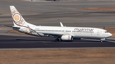 XY-ALF - Boeing 737-86N - Myanmar National Airlines