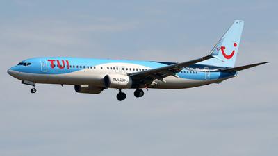 A picture of GTAWK - Boeing 7378K5 - TUI fly - © Javier Rodriguez - Amics de Son Sant Joan