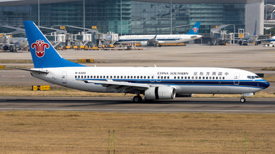 A picture of B5300 - Boeing 73781B - China Southern Airlines - © miCHAel TAN