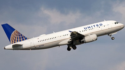 N478UA - Airbus A320-232 - United Airlines