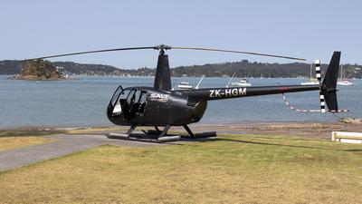 ZK-HGM - Robinson R44 Raven II - Salt Air