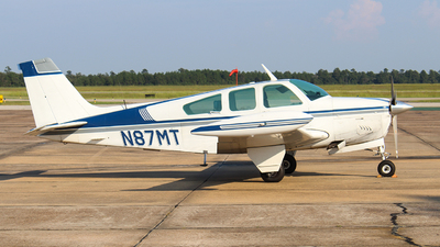 A picture of N87MT - Beech F33A Bonanza - [CE771] - © Javier Vera