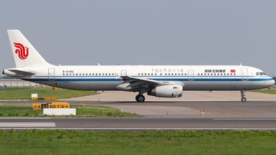B-6792 - Airbus A321-232 - Air China