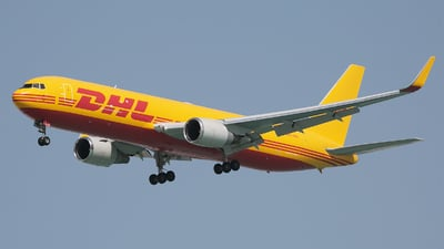 A picture of A9CDHS - Boeing 767323(ER)(BDSF) - DHL - © Dave Jefferys