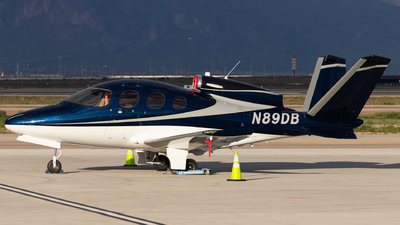 N89DB - Cirrus Vision SF50 G2 - Private