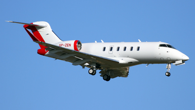 SP-ZEN - Bombardier BD-100-1A10 Challenger 350 - Private
