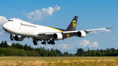 N622UP - Boeing 747-84AF - United Parcel Service (UPS)