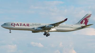 A7-AAH - Airbus A340-313X - Qatar - Amiri Flight