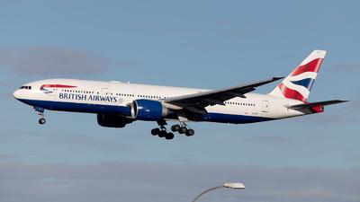 A picture of GVIIO - Boeing 777236(ER) - British Airways - © Mustafa Sandikci