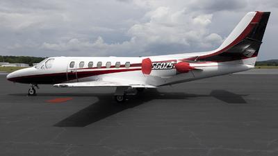N560ZS - Cessna 560 Citation Ultra - Private