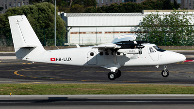 A picture of HBLUX - Viking DHC6400 Twin Otter - Zimex Aviation - © Aaron Vancoillie