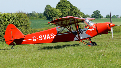 G-SVAS - Piper PA-18-150 Super Cub - Private