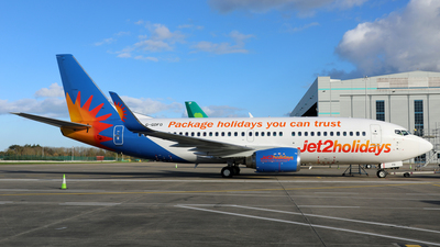 A picture of GGDFO - Boeing 7373U3 - Jet2 - © PAUL QUINN