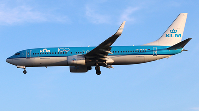 A picture of PHBXN - Boeing 7378K2 - KLM - © Ferenc Kolos