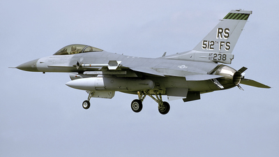 87-0238 - General Dynamics F-16C Fighting Falcon - United States - US Air Force (USAF)