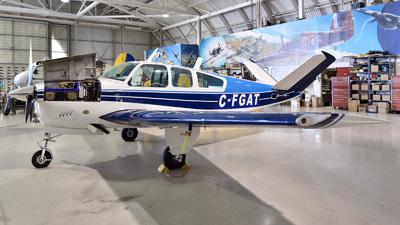 C-FGAT - Beechcraft B35 Bonanza - Canadian Warplane Heritage Museum