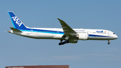 A picture of JA892A - Boeing 7879 Dreamliner - All Nippon Airways - © M Tanibata