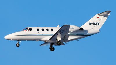 D-ICEE - Cessna 525 CitationJet 1 - Private