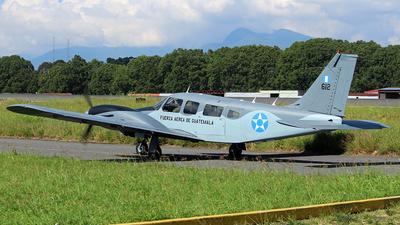612 - Piper PA-34-200T Seneca II - Guatemala - Air Force