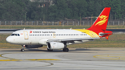 B-6417 - Airbus A319-133 - Capital Airlines