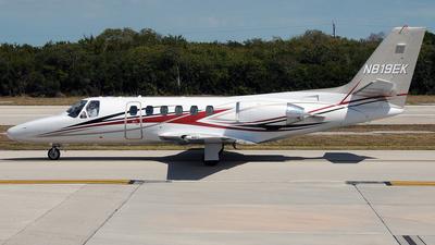 A picture of N819EK - Cessna 550 Citation II - [S5500009] - © PAUL LINK