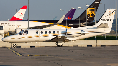 YU-SEX - Cessna 550B Citation Bravo - Air Pink