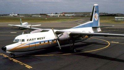 VH-EWP - Fokker F27-500RF Friendship - East West Airlines