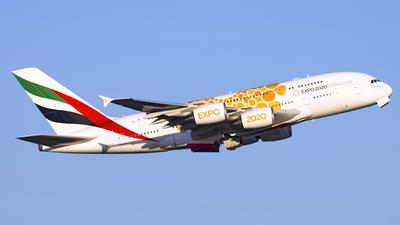A6-EEA - Airbus A380-861 - Emirates