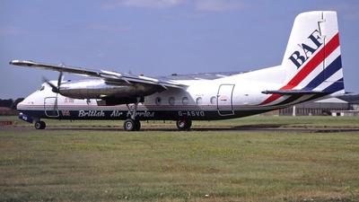 G-ASVO - Handley Page Dart Herald 214 - British Air Ferries (BAF)