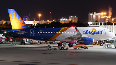 N251NV - Airbus A320-214 - Allegiant Air