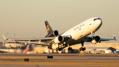 N258UP - McDonnell Douglas MD-11(F) - United Parcel Service (UPS)