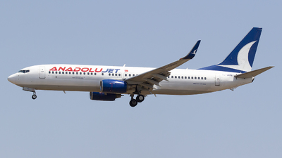 A picture of TCSBN - Boeing 7378Q8 - Turkish Airlines - © Bora Polater