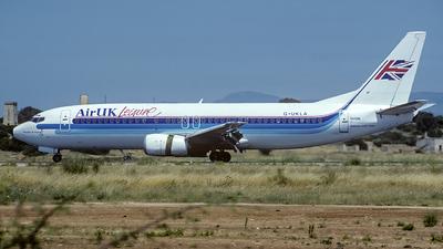 G-UKLA - Boeing 737-4Y0 - Air UK Leisure