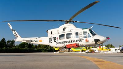 A picture of ECMAQ - Bell 412 - Babcock MCS Espana - © Enrique Rubira