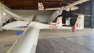 D-0420 - Glaser-Dirks DG-505 Elan Orion - Fliegerclub Kirchdorf am Inn