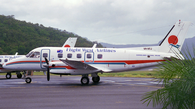 VH-XFJ - Embraer EMB-110P1 Bandeirante - Flight West Airlines