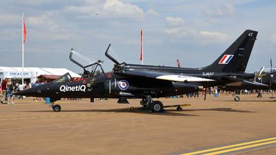 ZJ647 - Dassault-Breguet-Dornier Alpha Jet A - QinetiQ