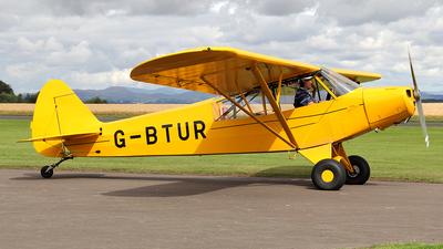 A picture of GBTUR - Piper L18C Super Cub - [183205] - © Ian Howat