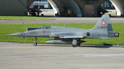 J-3077 - Northrop F-5E Tiger II - Switzerland - Air Force
