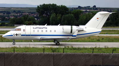 12-07 - Bombardier CL-600-2B16 Challenger 601 - Germany - Air Force