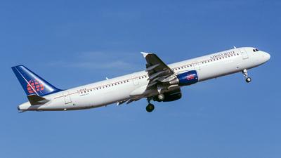 G-BXAW - Airbus A321-211 - AirWorld