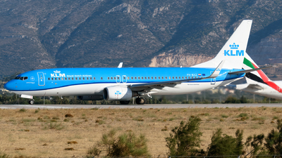 A picture of PHBXZ - Boeing 7378K2 - KLM - © George Chaidaris