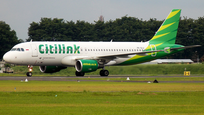 PK-GLU - Airbus A320-214 - Citilink