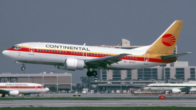N17317 - Boeing 737-3T0 - Continental Airlines