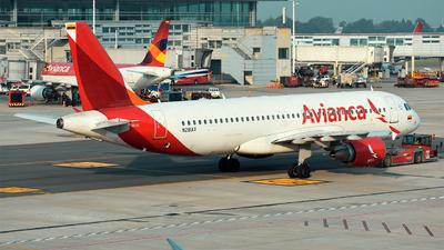 N281AV - Airbus A320-214 - Avianca